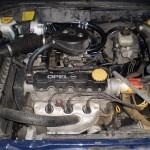 Komora silnika po montażu instalacji LPG