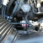 Filtr fazy lotnej, który wymieniamy co 15.000km od montażu instalacji LPG!