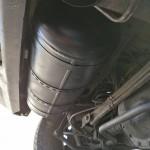 Zbiornik LPG o pojemności 735x315x50L gdzie zatankujemy 80% gazu, a mianowicie 40L gazu.