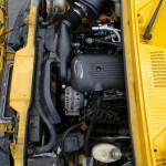Komora silnika po montażu praktycznie wogólne nie zmieniła swojego wyglądu sprzed montażu!