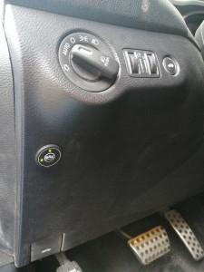 Przełącznik instalacji gazowej
